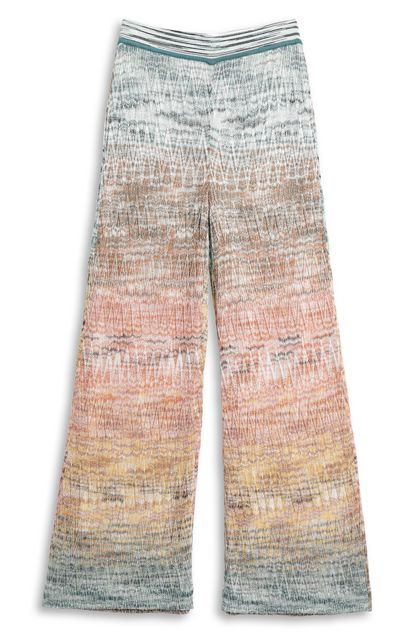 MISSONI 3/4-length trousers Orange Woman - Back