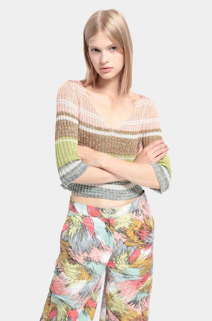 MISSONI 3/4-length short Skin color Woman - Front
