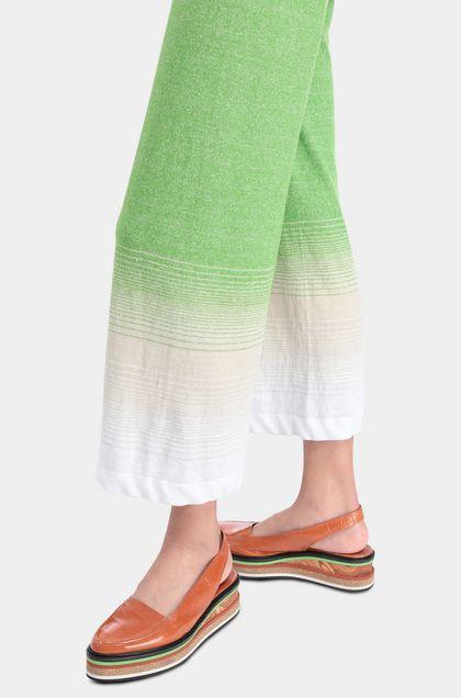 MISSONI Pantalon Vert acide Femme - Devant