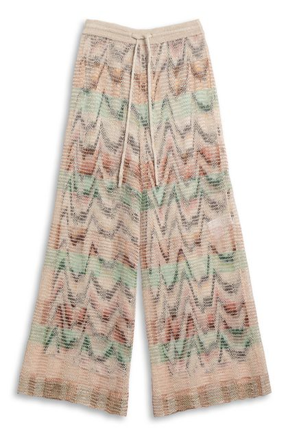MISSONI 3/4-length trousers Beige Woman - Back