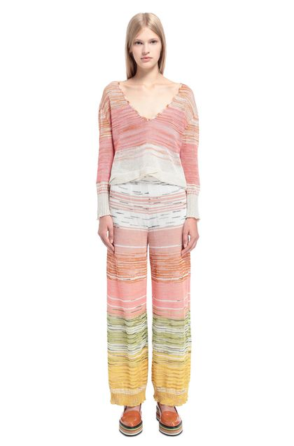 MISSONI Trouser Skin color Woman - Back