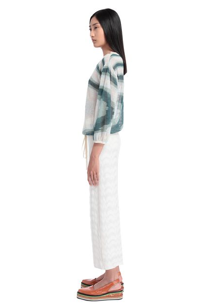 MISSONI 3/4-length trousers White Woman - Front