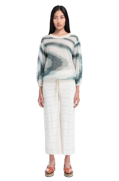 MISSONI 3/4-length trousers White Woman - Back