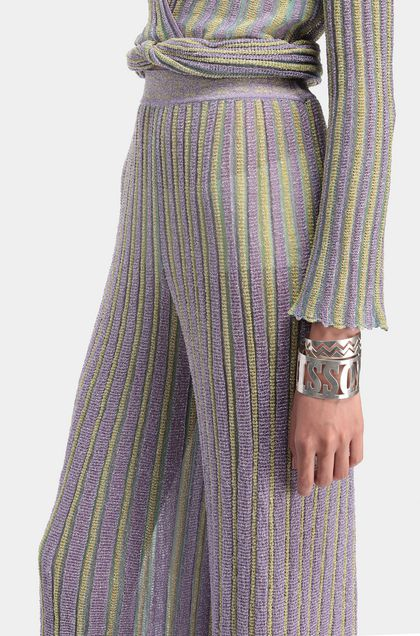 MISSONI 3/4-length trousers Lilac Woman - Front