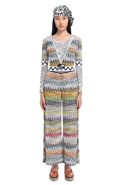 MISSONI 3/4-length short White Woman - Back