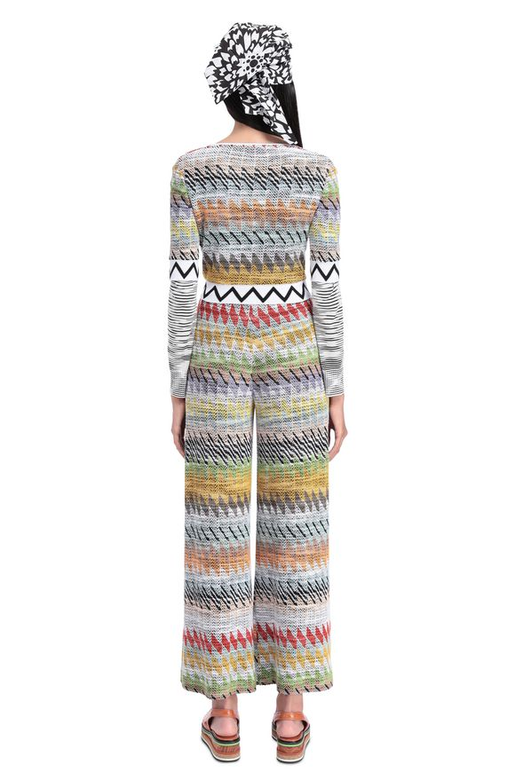MISSONI Pantalone capri Donna, Vista senza modello
