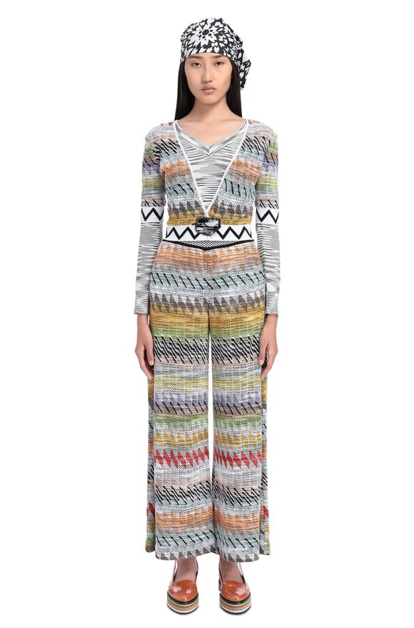 MISSONI 3/4-length short Woman, Frontal view