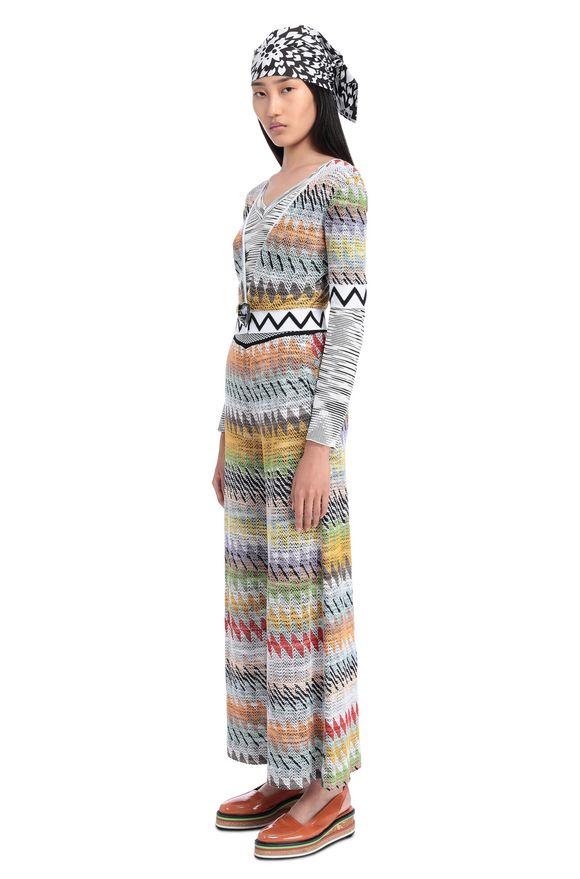 MISSONI Pantalone capri Donna, Vista laterale