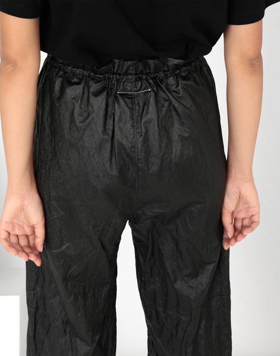 MM6 MAISON MARGIELA Crinkled wide-leg cropped pants Casual pants [*** pickupInStoreShipping_info ***] a