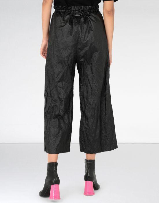 MM6 MAISON MARGIELA Crinkled wide-leg cropped pants Casual pants [*** pickupInStoreShipping_info ***] d