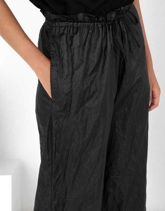 MM6 MAISON MARGIELA Crinkled wide-leg cropped pants Casual pants [*** pickupInStoreShipping_info ***] e