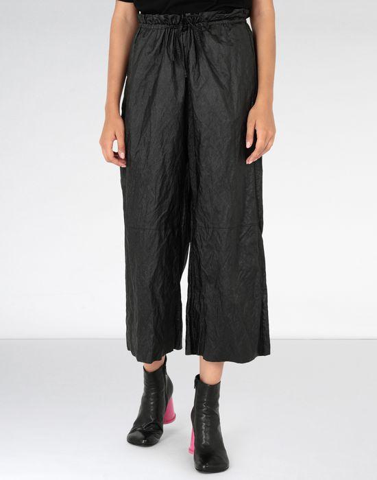 MM6 MAISON MARGIELA Crinkled wide-leg cropped pants Casual pants [*** pickupInStoreShipping_info ***] f