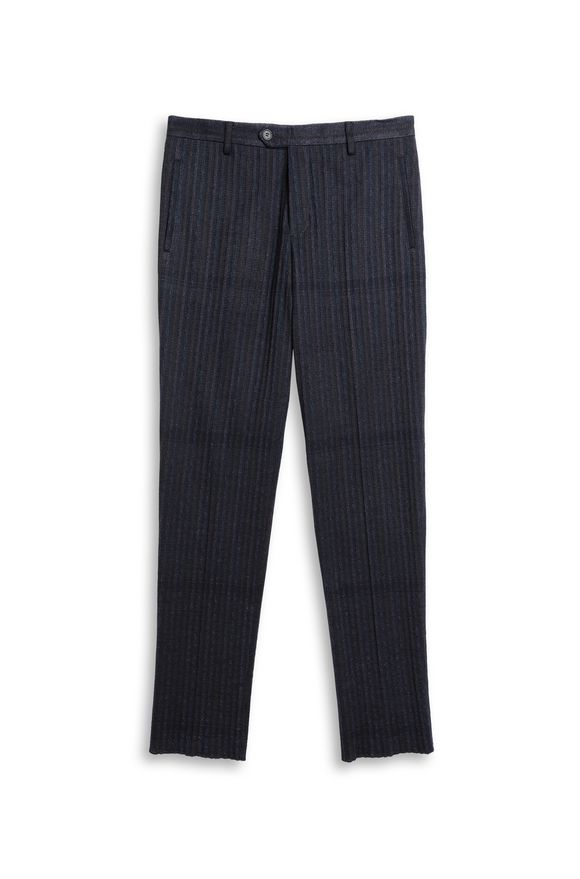 MISSONI Pants Dark blue Man