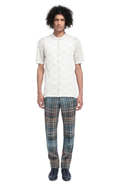 MISSONI Trouser Azure Man - Front
