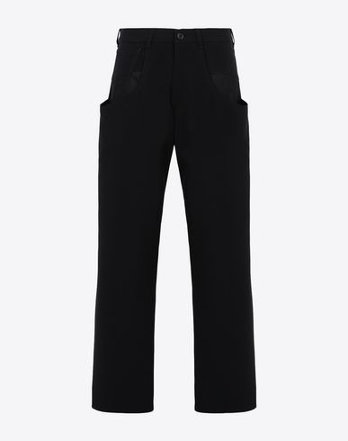MAISON MARGIELA Trousers [*** pickupInStoreShipping_info ***] Trousers with tonal stitching f