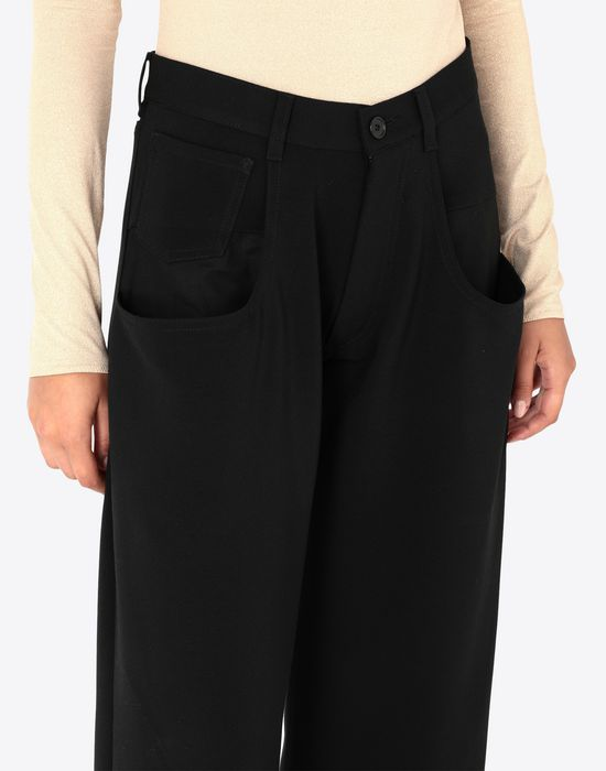 MAISON MARGIELA Trousers with tonal stitching Casual pants [*** pickupInStoreShipping_info ***] a