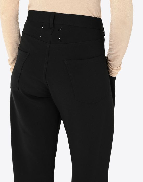 MAISON MARGIELA Trousers with tonal stitching Casual pants [*** pickupInStoreShipping_info ***] b
