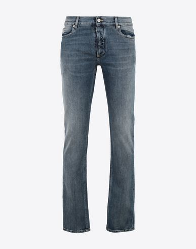 MAISON MARGIELA Jeans [*** pickupInStoreShippingNotGuaranteed_info ***] Slim stretch fit denim trousers f