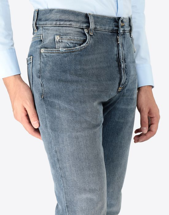 MAISON MARGIELA Slim stretch fit denim trousers Jeans [*** pickupInStoreShippingNotGuaranteed_info ***] a