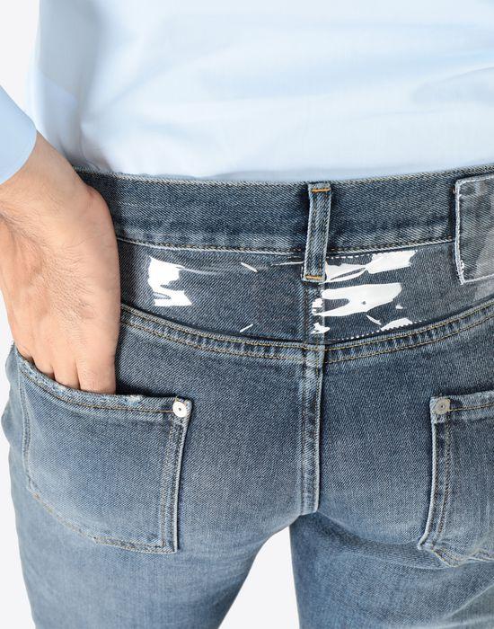 MAISON MARGIELA Slim stretch fit denim trousers Jeans [*** pickupInStoreShippingNotGuaranteed_info ***] b