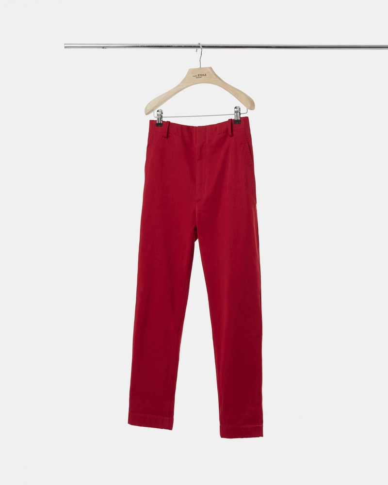 DYSART cotton trousers ISABEL MARANT ÉTOILE