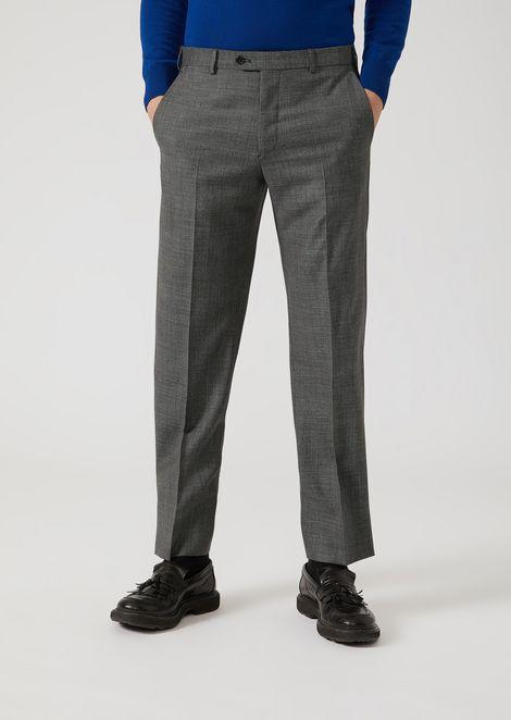 EMPORIO ARMANI Classic Pants [*** pickupInStoreShippingNotGuaranteed_info ***] f