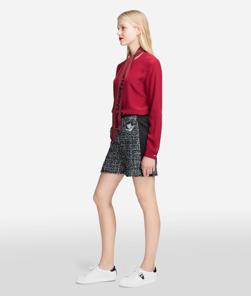 KARL LAGERFELD Karl Space Bouclé Shorts Shorts Woman d