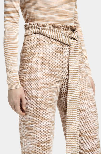 MISSONI Pants Pastel pink Woman - Front