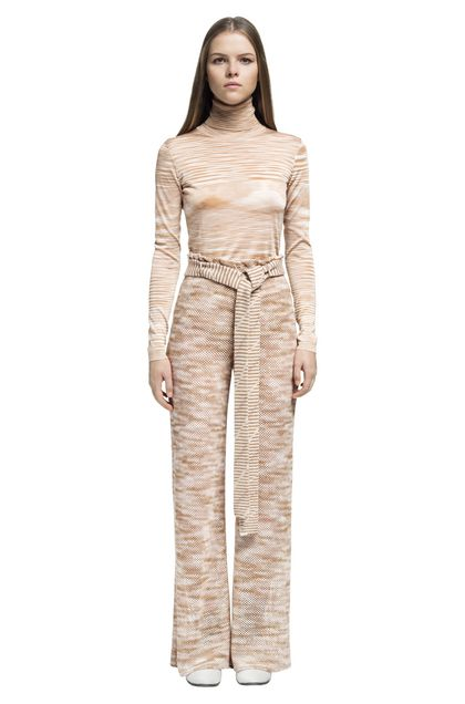 MISSONI Trouser Pastel pink Woman - Back