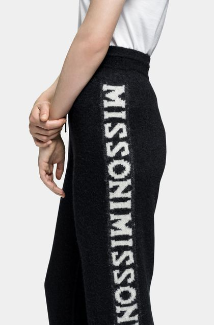 MISSONI Pants Dark blue Woman - Front