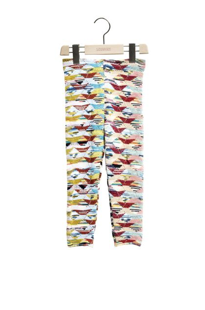 MISSONI KIDS Leggings  Rosa Damen - Rückseite