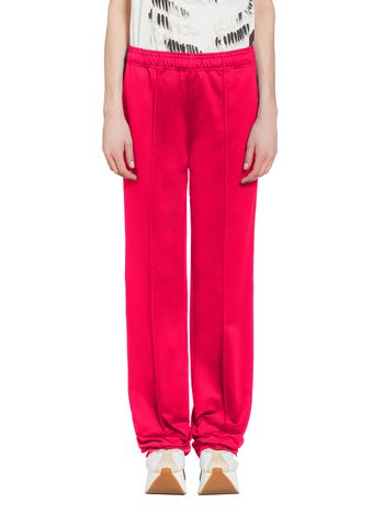 Marni Pants in double techno jersey fuchsia Woman