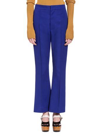 Marni Pantalone in gabardine di lana Donna