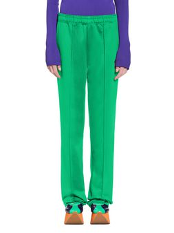 Marni Pants in green double technical jersey Woman