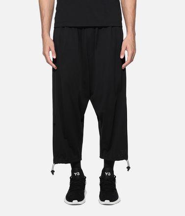 57b20ae98 Y-3 Cropped pant Man Y-3 Drawstring 3 4 Pants r