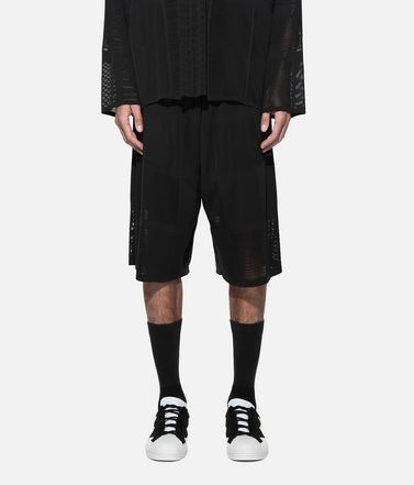 Y-3 Shorts Man Y-3 Patchwork Shorts r