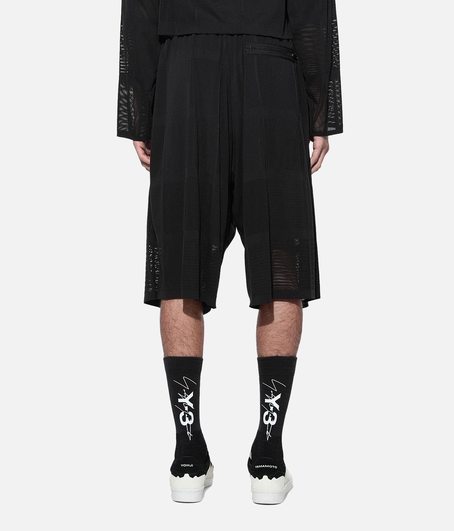 Y-3 Y-3 Patchwork Shorts Shorts Man d
