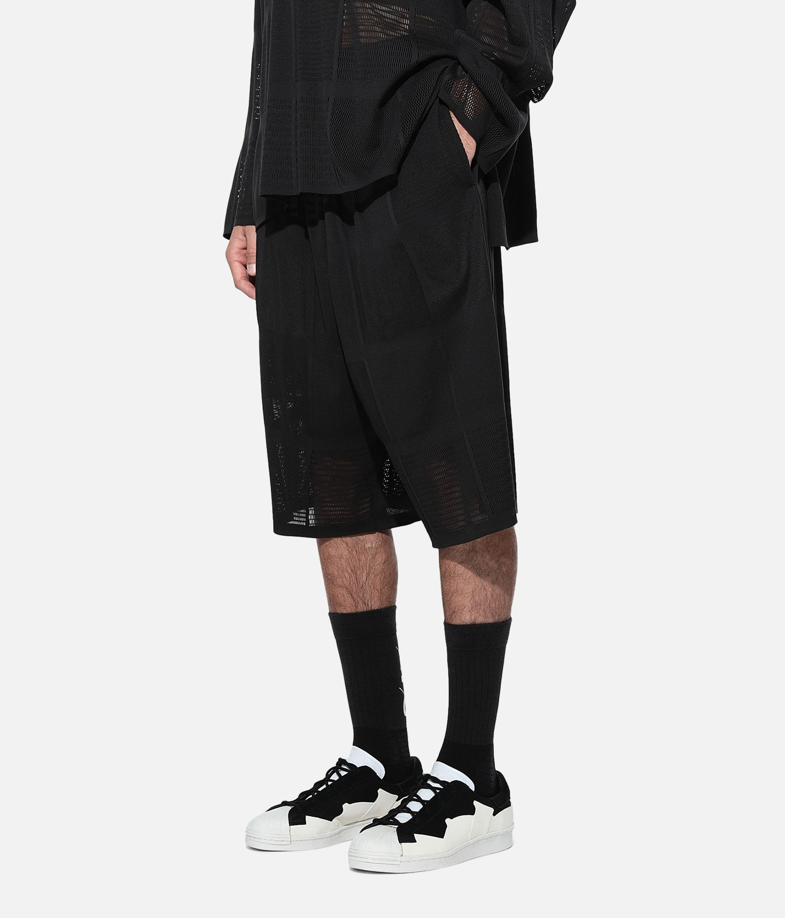 Y-3 Y-3 Patchwork Shorts Shorts Man e