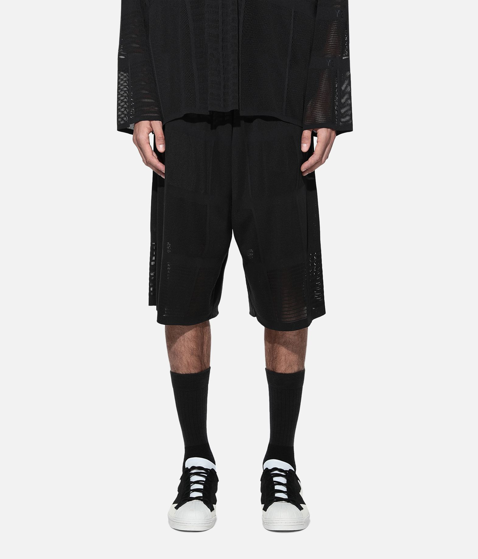 Y-3 Y-3 Patchwork Shorts Shorts Man r