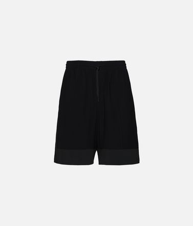 Y-3 3-Stripes Material Mix Shorts