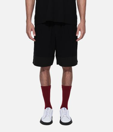 Y-3 Шорты Для Мужчин Y-3 3-Stripes Material Mix Shorts r
