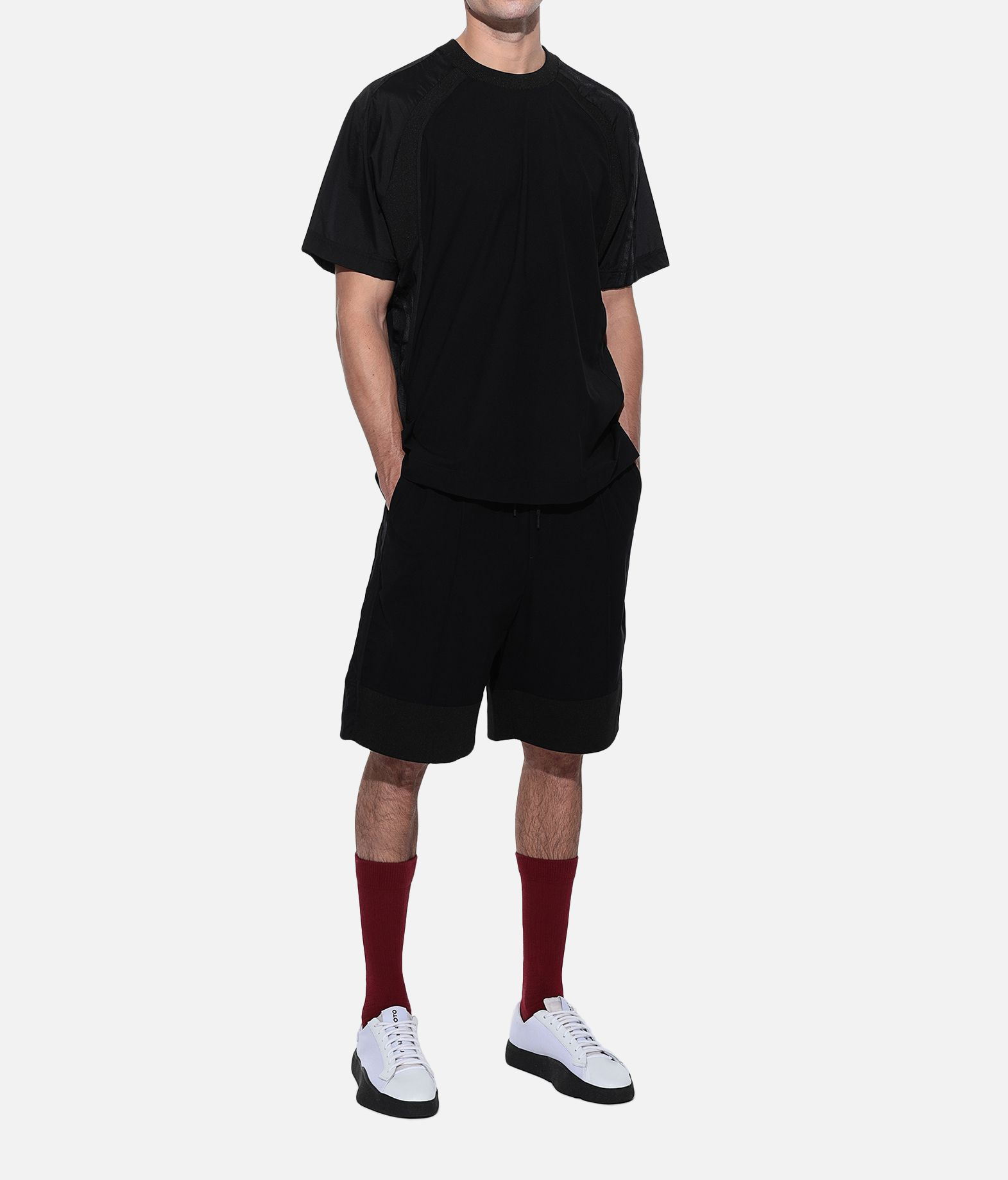 Y-3 Y-3 3-Stripes Material Mix Shorts Shorts Man a