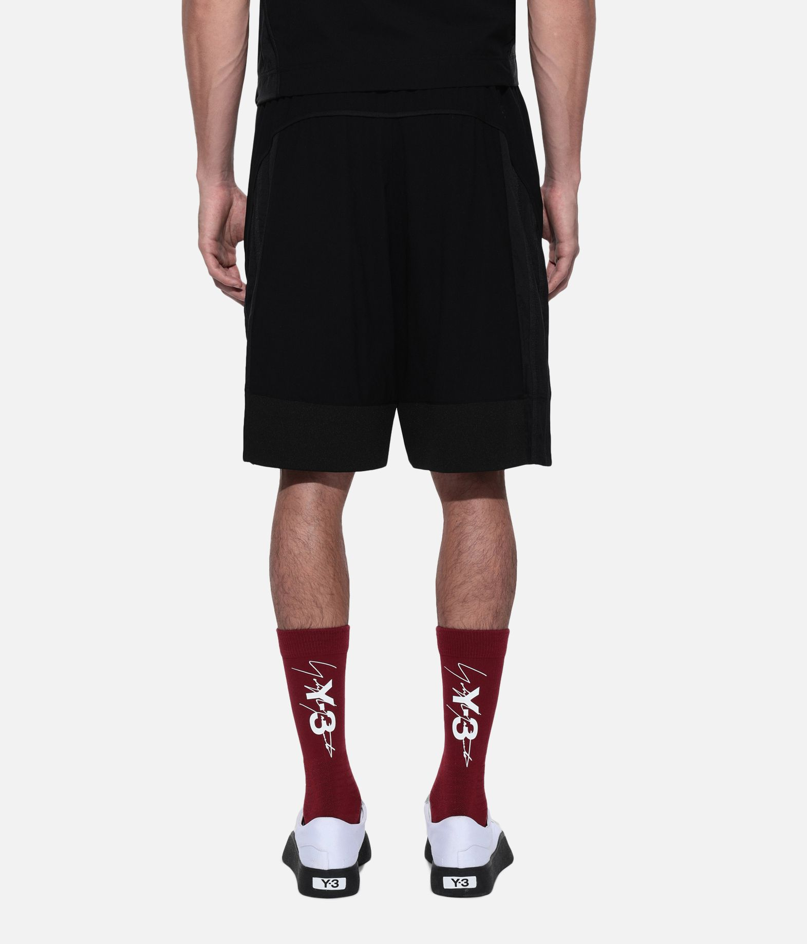 Y-3 Y-3 3-Stripes Material Mix Shorts Shorts Man d