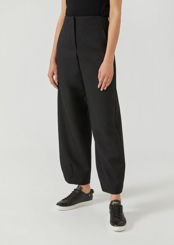39ca6d8d847 Oversize trousers in virgin wool