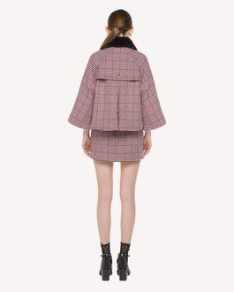 REDValentino Double Windowpane mini skirt