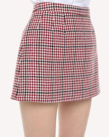 REDValentino QR3RA3003SV C61 Skirt Woman e