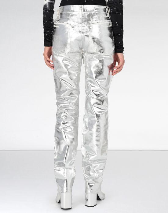 MM6 MAISON MARGIELA Silver coated denim pants Casual pants [*** pickupInStoreShipping_info ***] e