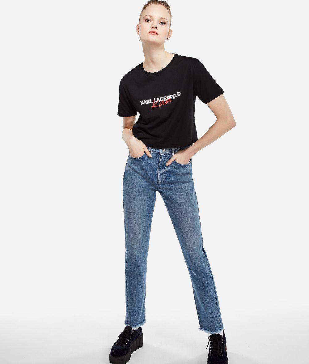 KARL LAGERFELD Karl X Kaia Mom Fit Jeans Jeans Woman f