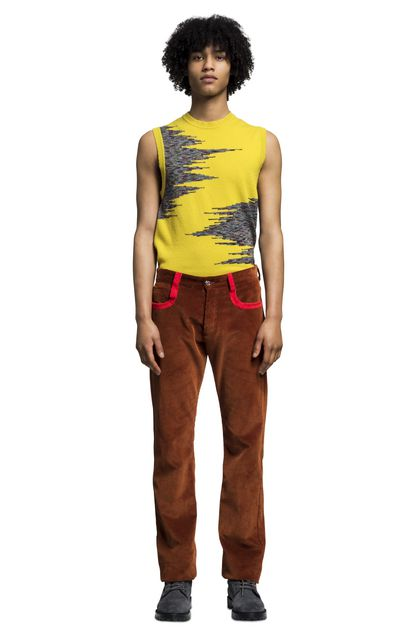 MISSONI Pants Rust Man - Back