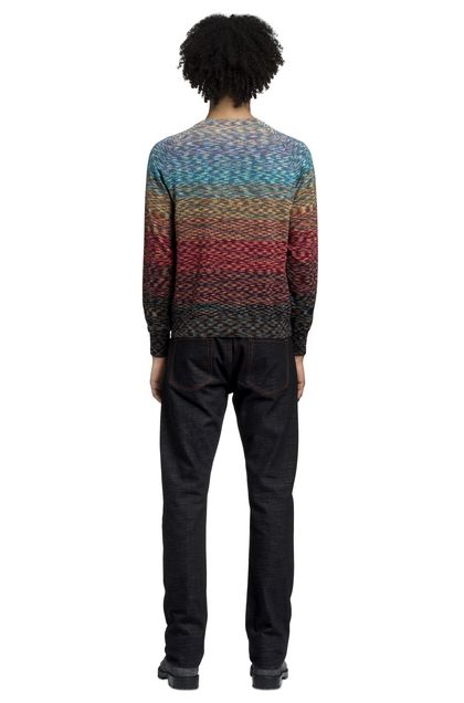 MISSONI Pants Blue Man - Front